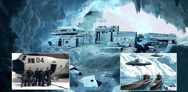 Ex oficial de la marina de EE.UU: 'Vi una entrada desconocida que llevaba a una base secreta en la Antártida'