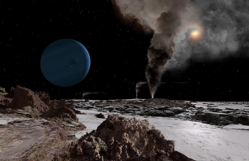 Tritón, una luna de Neptuno: ¿se han encontrado edificaciones alienígenas? (Video)