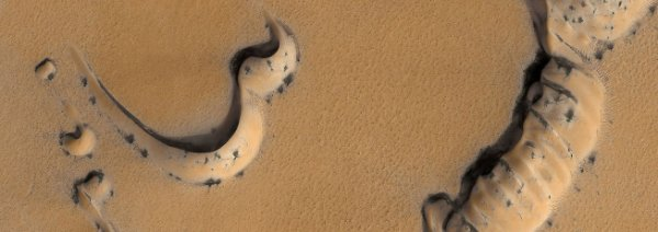 Cinco enigmas científicos de Marte