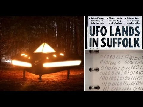 Contacto alienígena Expediente Bosque Rendleshanm y Marea alta
