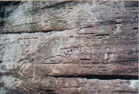 Descubren jeroglíficos egipcios de 5000 años de antigüedad en Australia