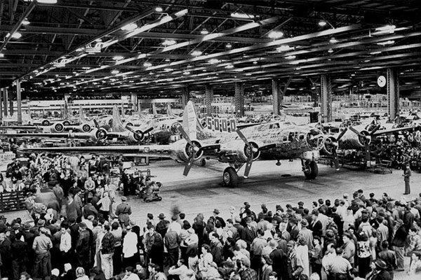 EEUU ocultó una fábrica de Boeing, que no ocultarán hoy