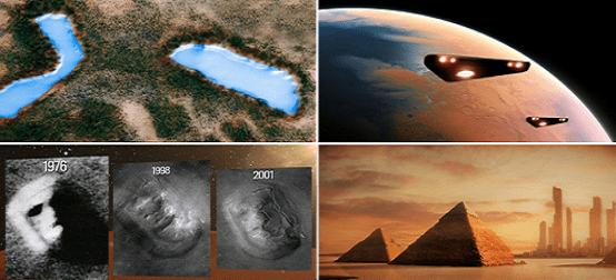 Encubrimiento de la Nasa: Masivas Civilizaciones Extraterrestres en la superficie de Marte