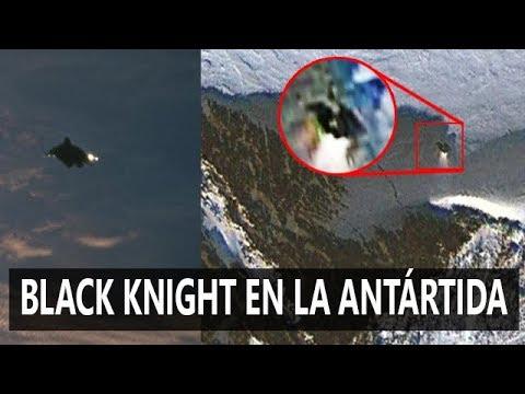 Extraño objeto en la ANTÁRTIDA parecido al satélite BLACK KNIGHT