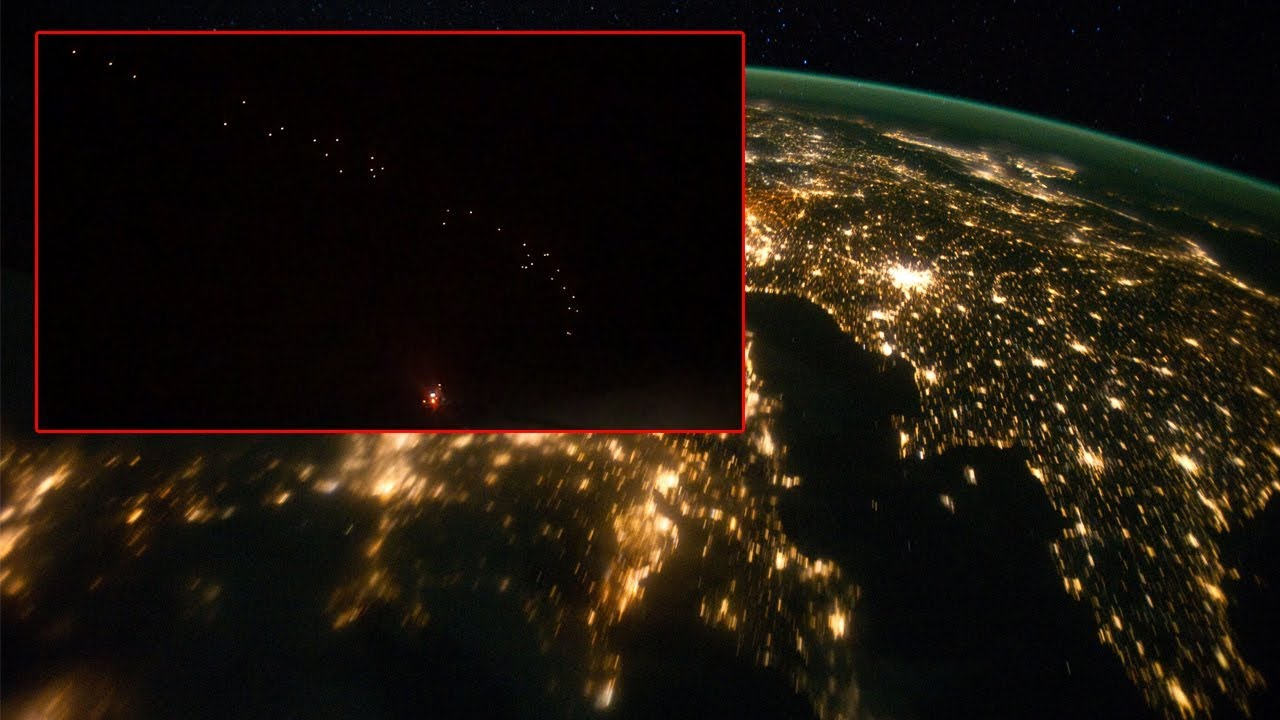 Flota OVNI sobre Francia