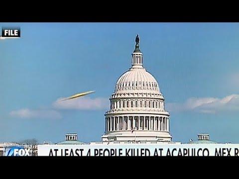 FOX NEWS graba en directo OVNI sobre Capitolio de los Estados Unidos