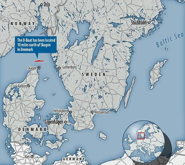 Hallan los restos de un submarino nazi que podía navegar hasta Sudamérica