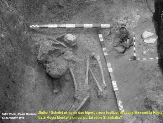 Historia secreta: los gigantes y la galería hiperbórea subterránea de Rumanía