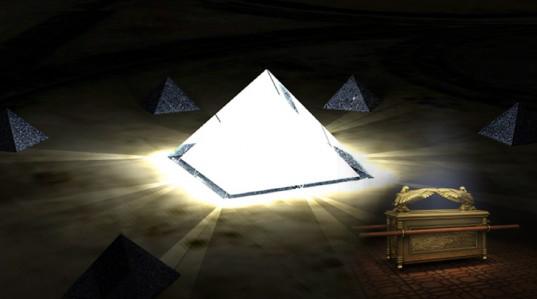 La Piramide de Giza y el Arca de la Alianza conformaban una Gran Central de Energia de la antiguedad