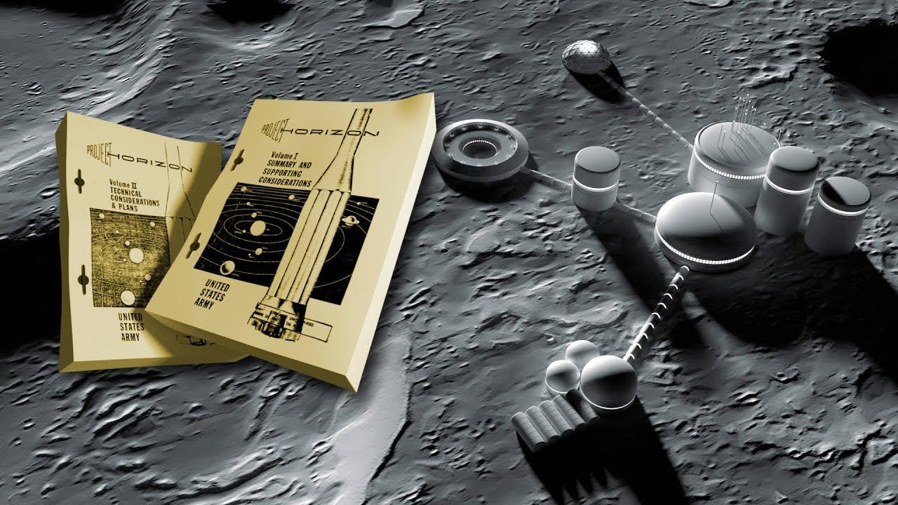 La Secreta Base Lunar y El Proyecto Horizont