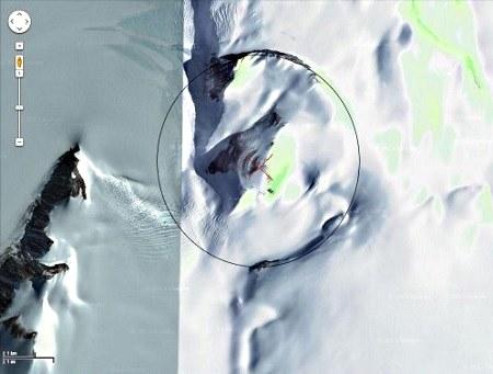 Las antiguas pirámides en la Antártida