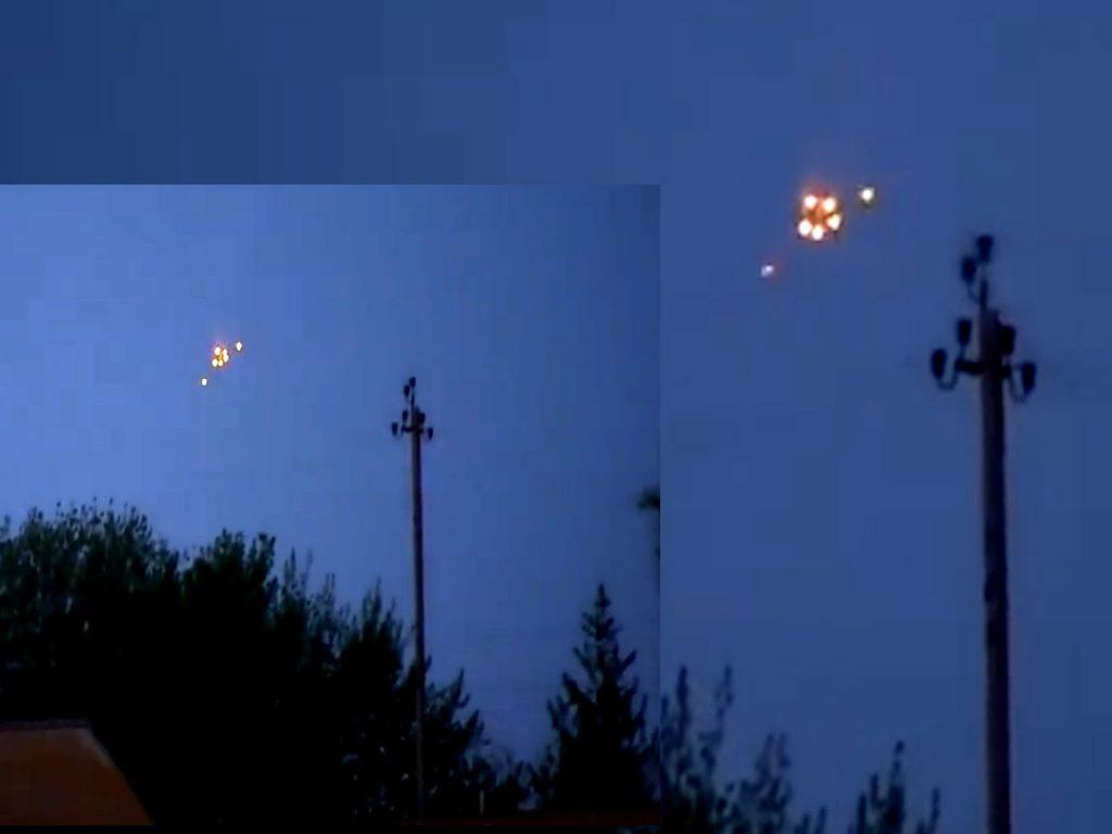 OVNI filmado en Rusia (Impresionante)