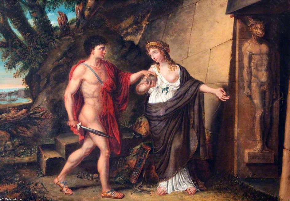Teseo: el héroe griego que se divertía secuestrando niñas