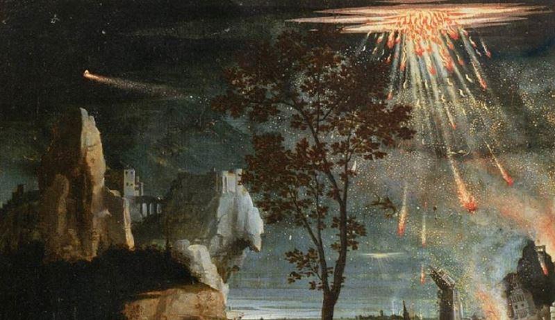 un misterio en la historia cuando dios hizo arder el azufre destruyo sodoma y gomorra - inicio