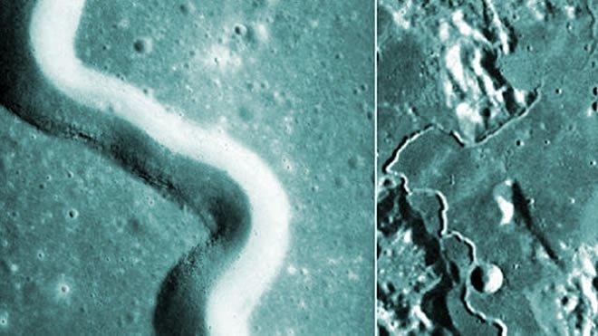 """Google Maps: Localizan una """"Entrada Alienígena Subterránea"""" en la superficie Lunar"""