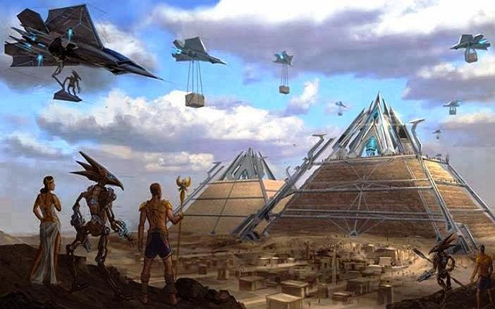 Fueron los extraterrestres confundidos con dioses en la antigüedad?