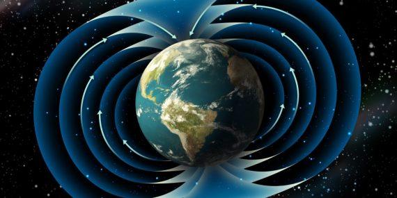 Actividad inexplicada detectada en el campo magnético de la Tierra