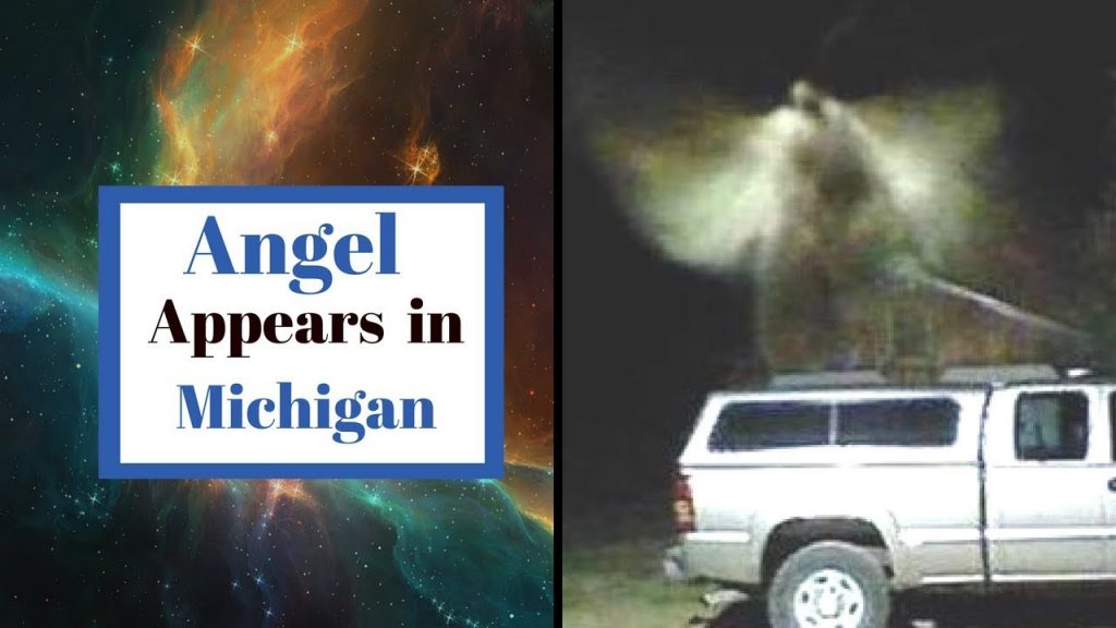 Cámara CCTV captura una extraña criatura alada. ¿Un verdadero ángel?