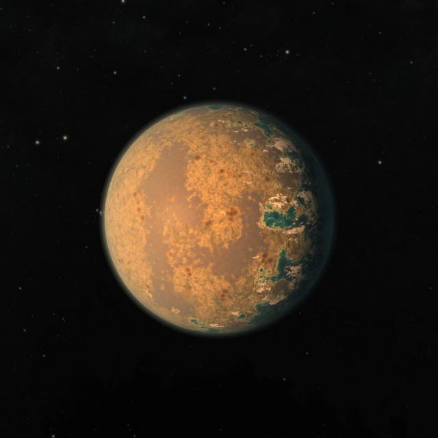 civilizaciones alienigenas y la busqueda de planetas globo ocular - Inic.