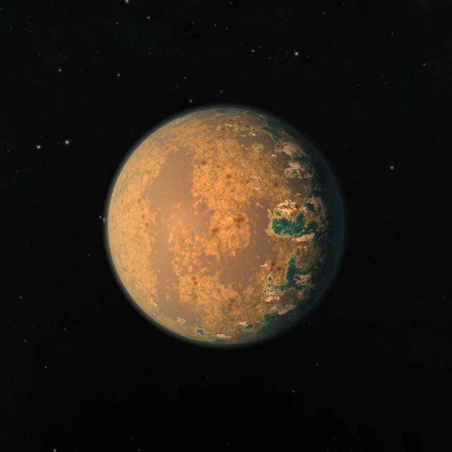 Civilizaciones alienígenas y la búsqueda de 'planetas globo ocular'