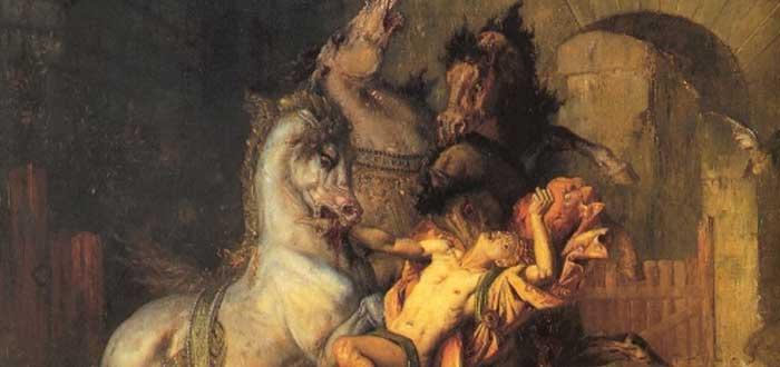 El mito de las Yeguas de Diomedes, comedoras de carne humana