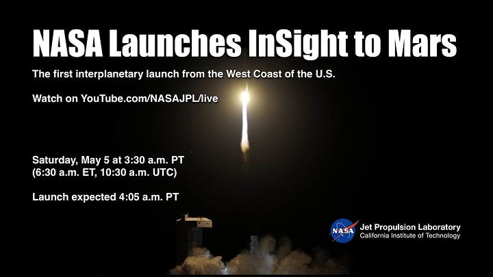 La NASA lanza la misión InSight para estudiar el corazón de Marte