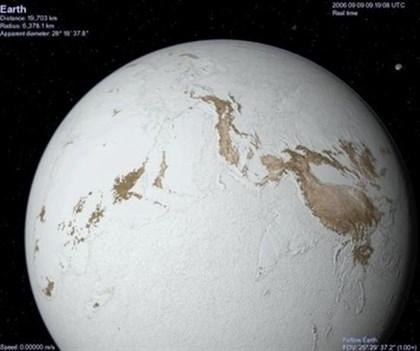 La 'Tierra bola de nieve' fue resultado de la tectónica de placas