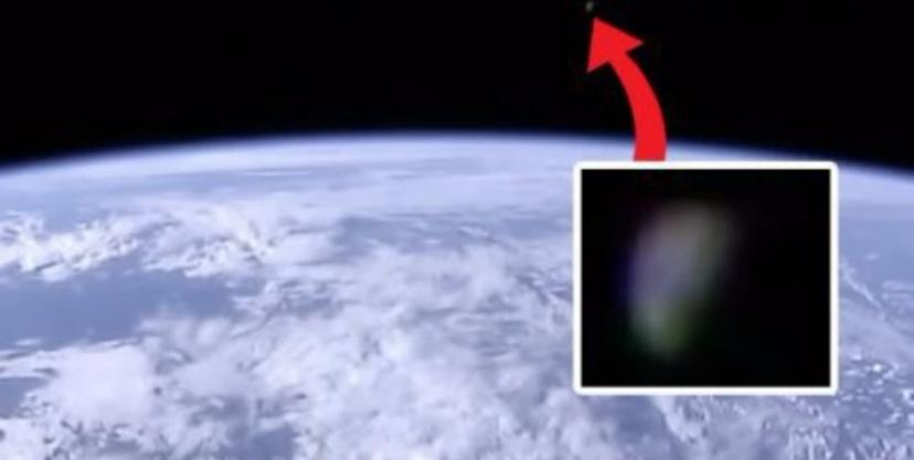 Las cámaras ISS registraron un objeto gigante cerca de la Tierra