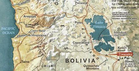 Los Annunaki y los secretos del lago Titicaca