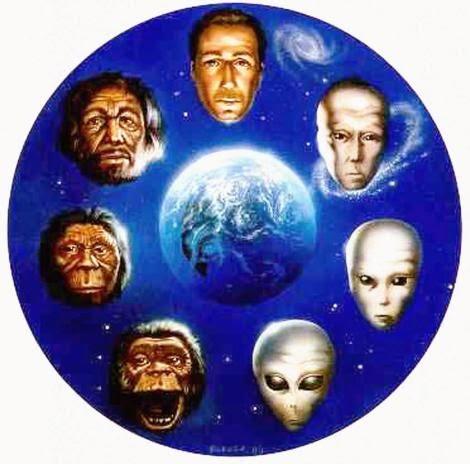 Los extraterrestres son humanos del futuro