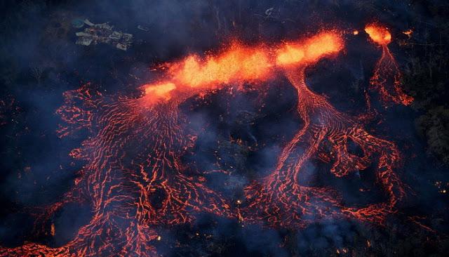 Los medios no lo dicen El volcán Kilauea podría provocar un Tsunami que acabaría con las costa de México y USA