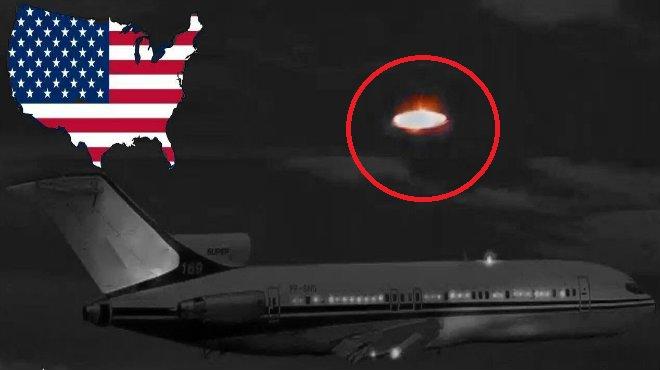 Nave extraterrestre en llamas es vista en EE.UU y la NASA aún lo niega