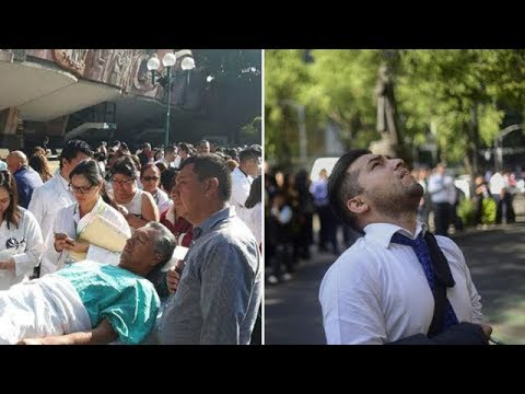 OVNIS AVISARON 15 MINUTOS ANTES DEL SISMO EN MÉXICO
