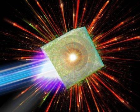 Podría un acelerador de partículas que utiliza implosión impulsada por láser convertirse en realidad?