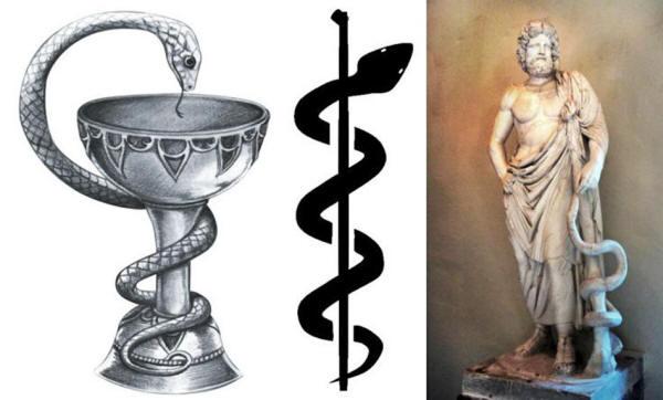 Porque una serpiente es el símbolo de la medicina y las farmacias