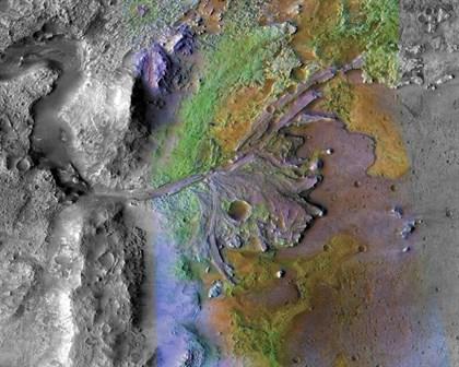 Rocas marcianas ricas en hierro, el objetivo para buscar vida pasada