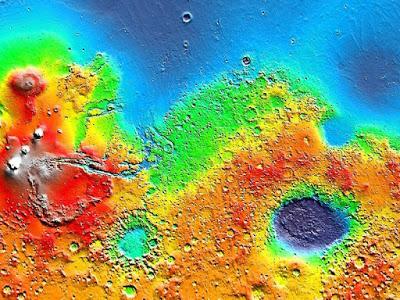 Las sales ayudan a las bacterias a sobrevivir en Marte