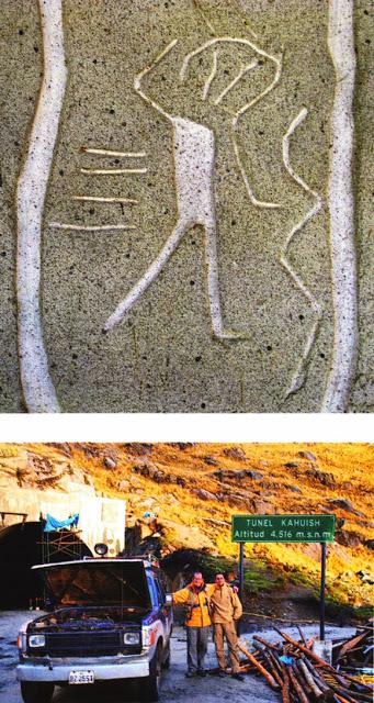 Criaturas en piedra del mundo anterior al nuestro