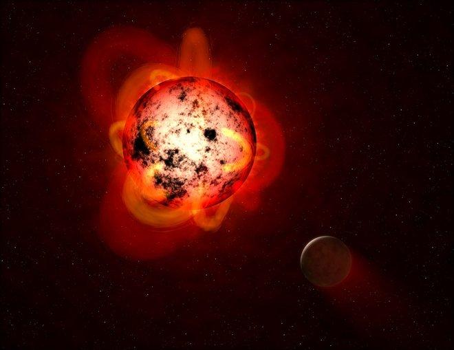La radiación ultravioleta de estrellas de baja masa podría hacer que los planetas resulten inhabitables