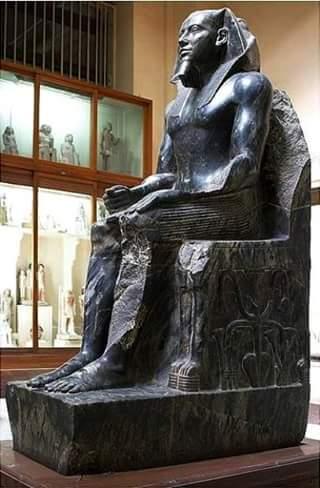 ¿Como hicieron los egipcios la estatua del faraón Kefren datada con 40.000 años?