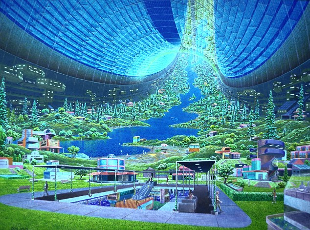 """¿Que tan grande debe ser un arca estelar? El arca cósmica de Noé """" Proyecto Persephone"""