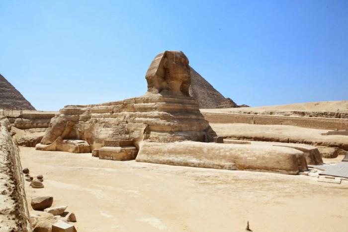 Un fósil revela secretos antediluvianos relacionando a las pirámides y a la esfinge