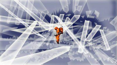 Extrañas formas de vida atrapadas en cristal gigante del inframundo