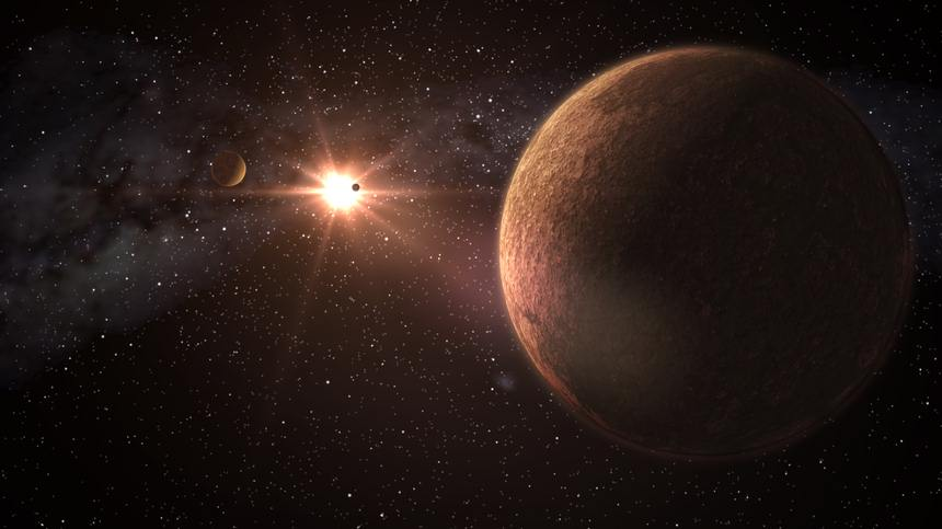 Consiguen identificar un sistema con tres planetas como la Tierra