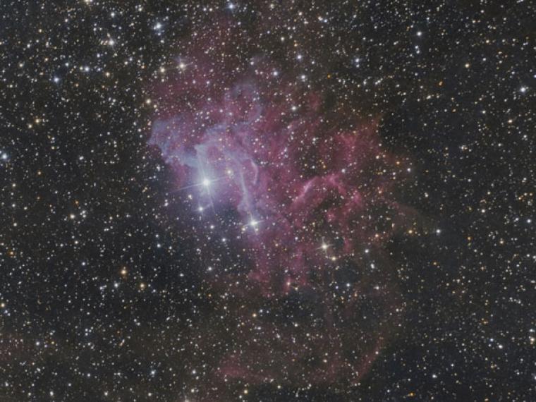Descubierta una molecula en el espacio que explicaria el origen de la vida