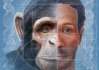 Descubren el «error» genético que nos hizo humanos