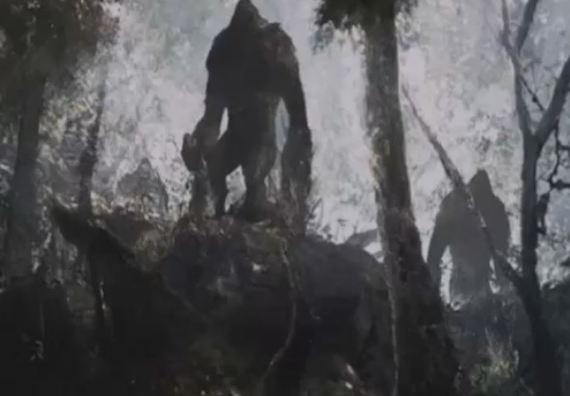 El extraño caso de la guerra humana-Bigfoot de 1855