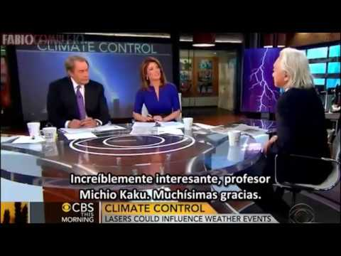 El físico Michio Kaku sorprendió a todos en el programa revelando el secreto de la modificación del clima en el programa en vivo