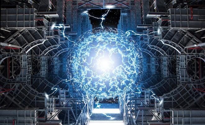Resultado de imagen de Se intenta conseguir energía por fusión nuclear aquí en el planeta