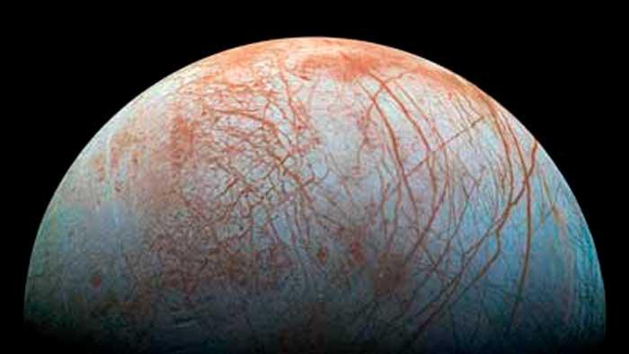 NASA revela nuevos datos sobre Europa, la luna de Júpiter que podría tener vida